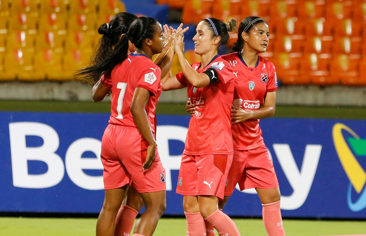Medellin femenino vs Real Santander 1