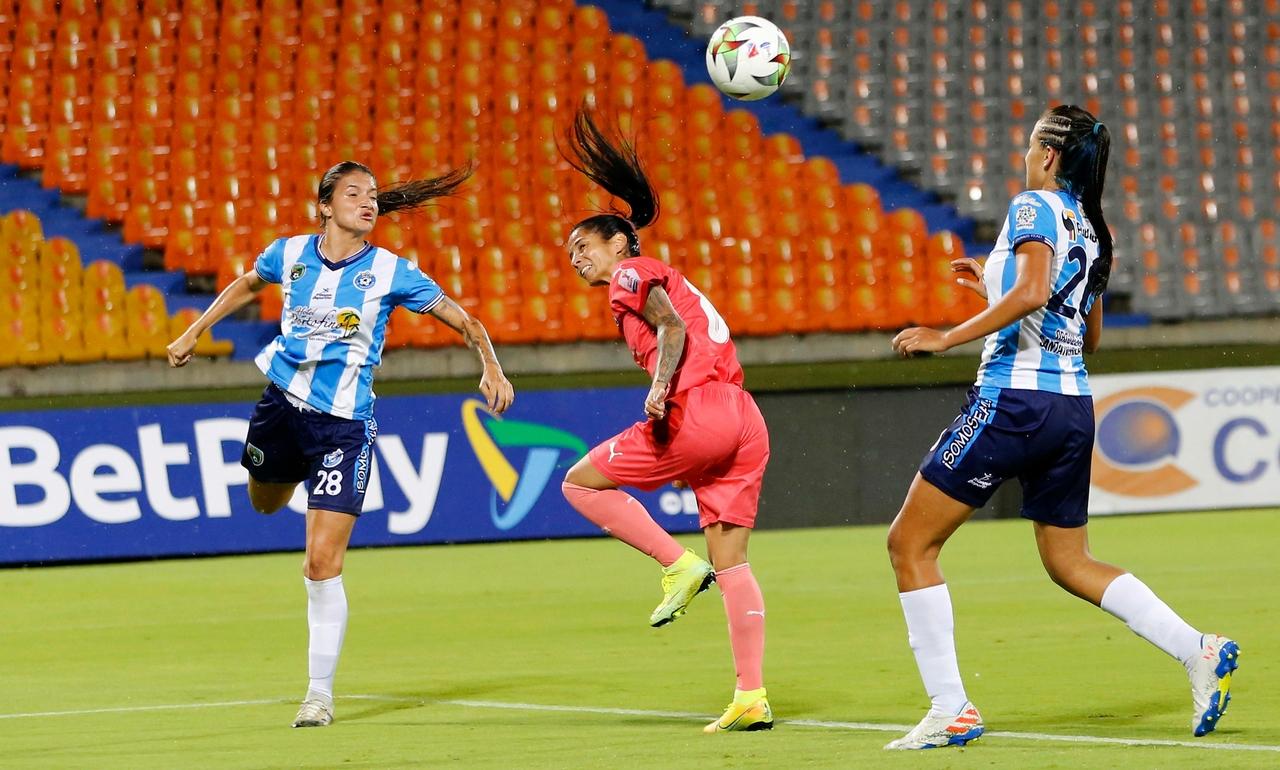 Medellin femenino vs Real Santander 2