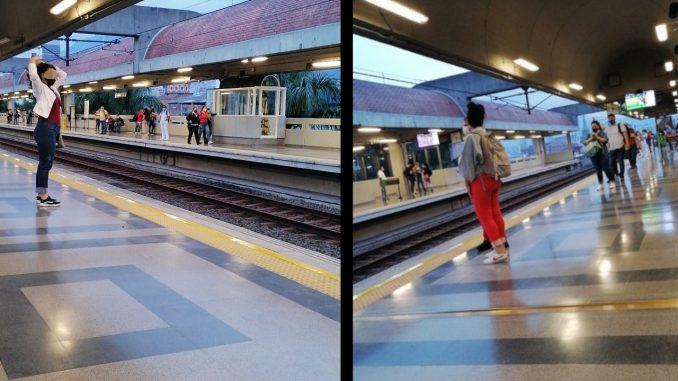 Hubo una interrupción en la línea A del Metro