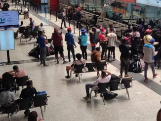 Más de 3 mil haitianos han pasado por la Terminal de Transportes de Medellín en la última semana