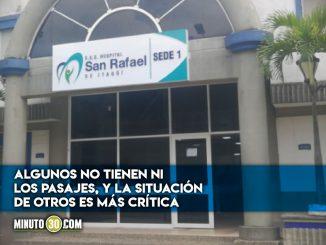 Enfermeros hospital San Rafael