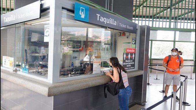 El Metro de Medellín extiende los horarios en sus puntos de venta