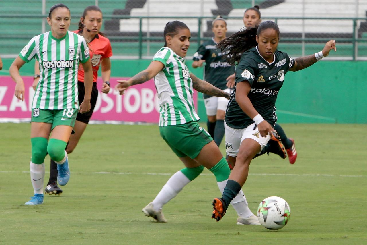Nacional vs Cali en la Liga Femenina 1