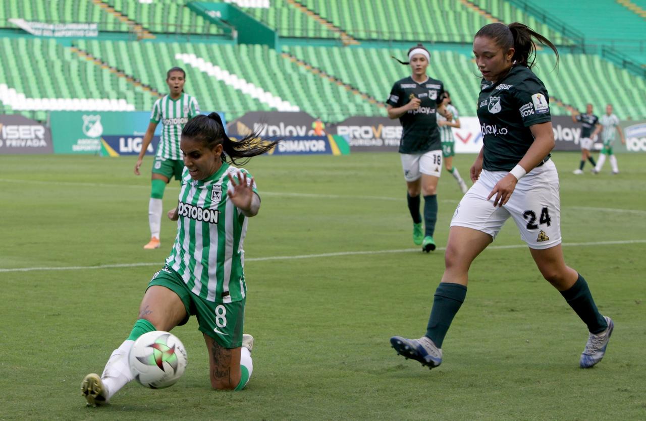 Nacional vs Cali en la Liga Femenina 4