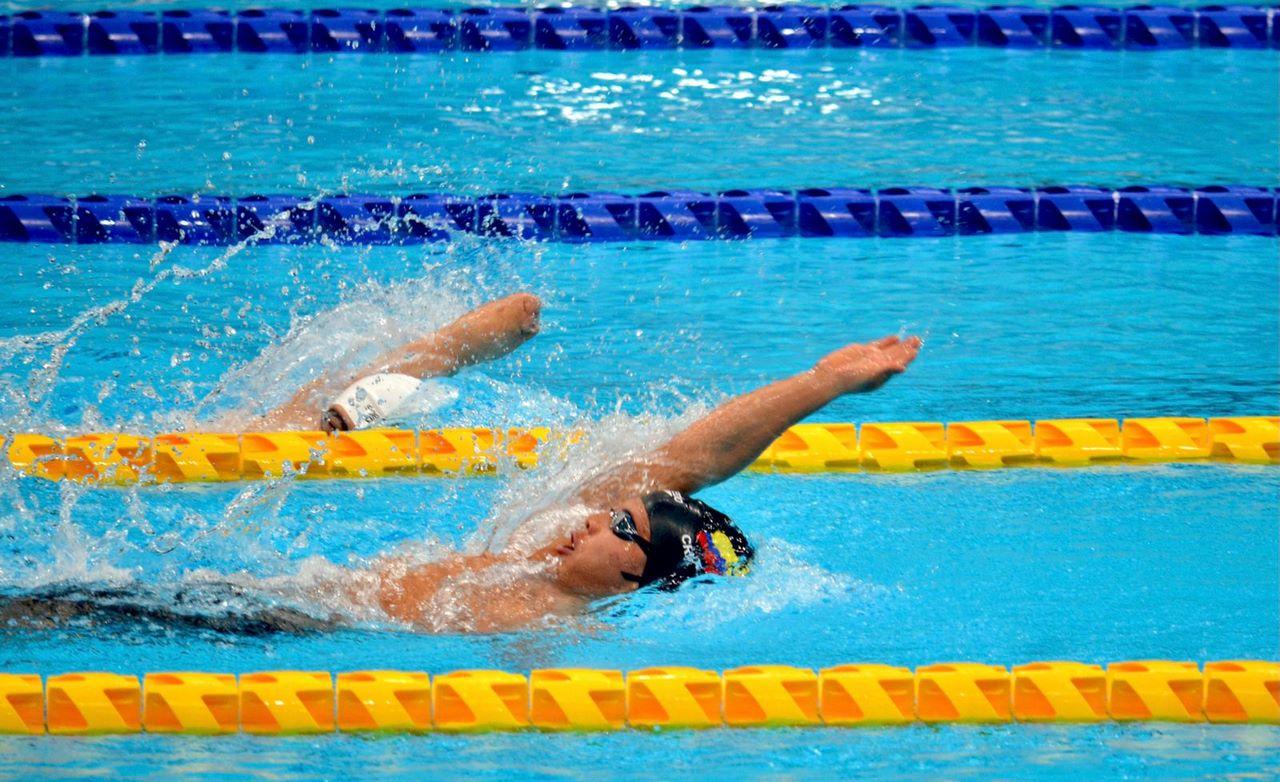 Nelson Crispin entrego primer oro a Colombia en Juegos Paralimpicos 1