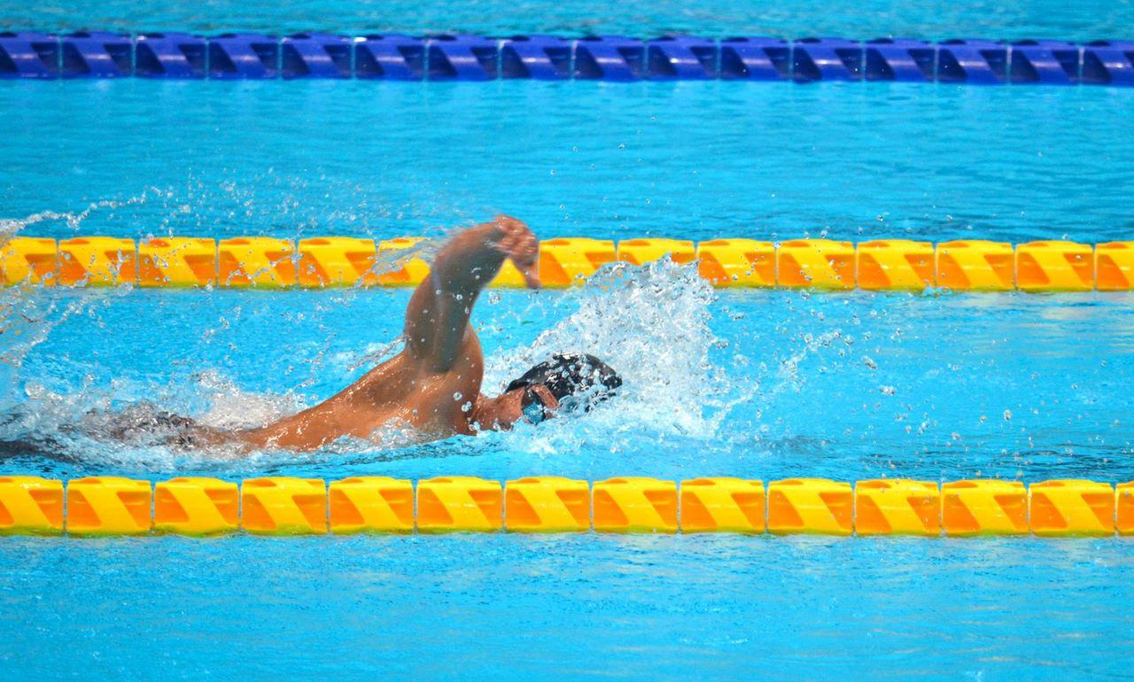Nelson Crispin entrego primer oro a Colombia en Juegos Paralimpicos 2