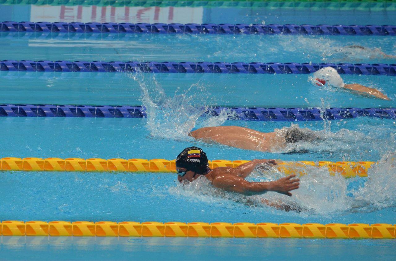 Nelson Crispin entrego primer oro a Colombia en Juegos Paralimpicos 3