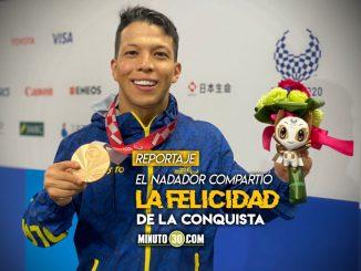 Nelson Crispin le entrego a Colombia una nueva medalla en Juegos Paralimpicos