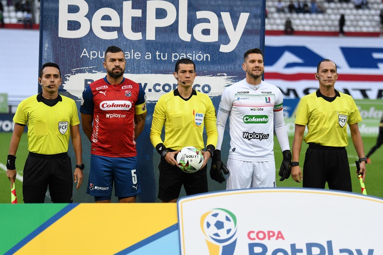 Once Caldas vs Medellin por Copa BetPlay 1