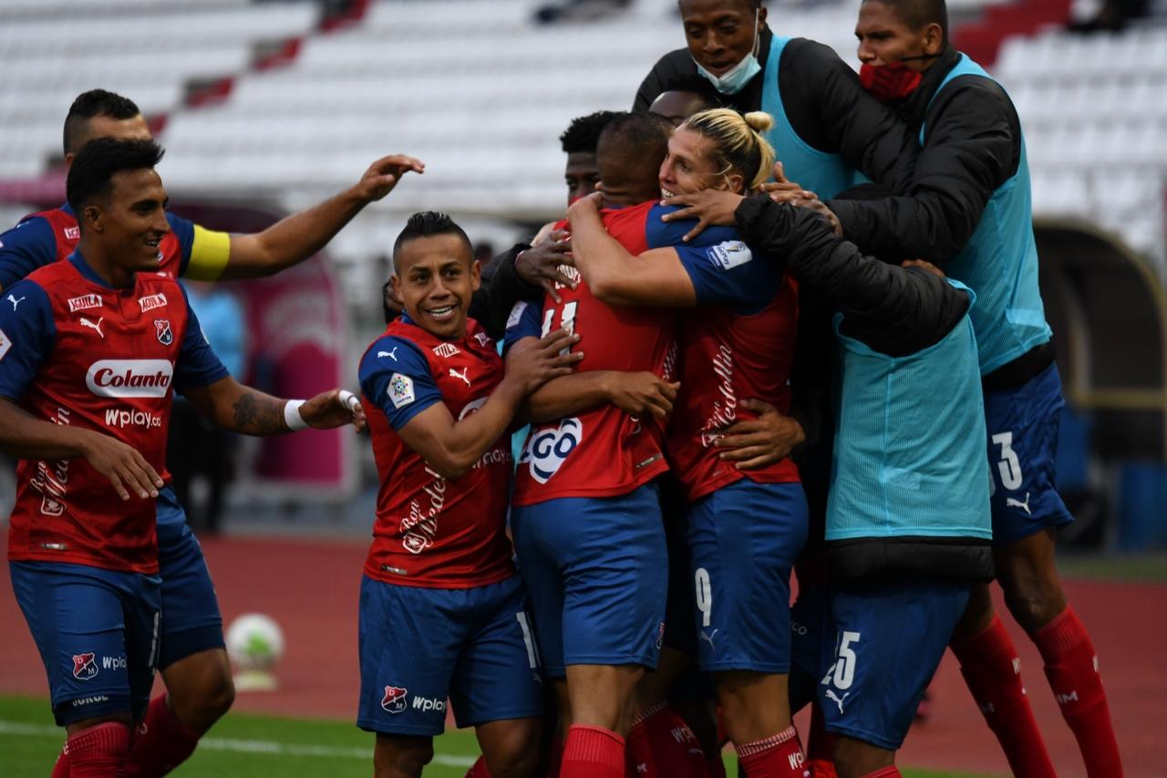 Once Caldas vs Medellin por Copa BetPlay 3