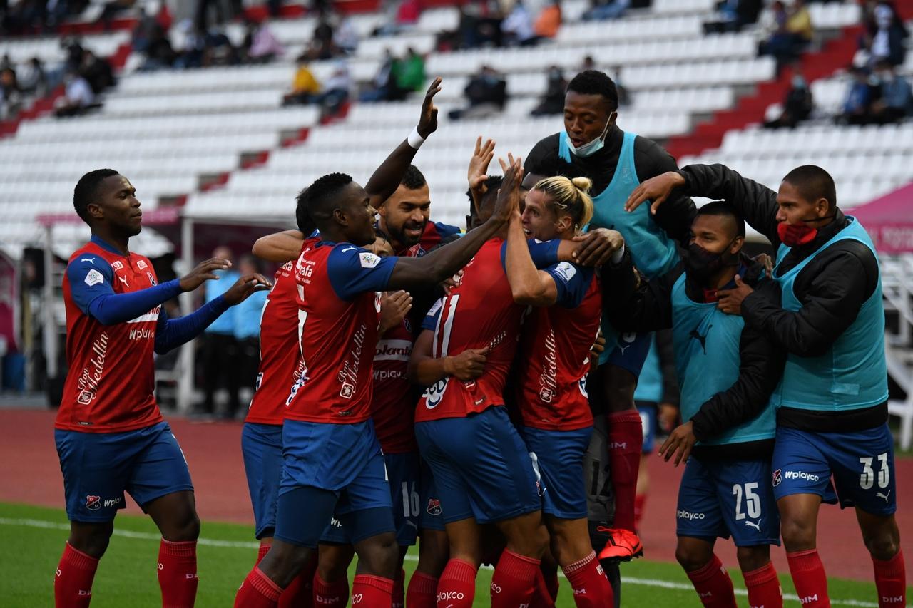 Once Caldas vs Medellin por Copa BetPlay 4