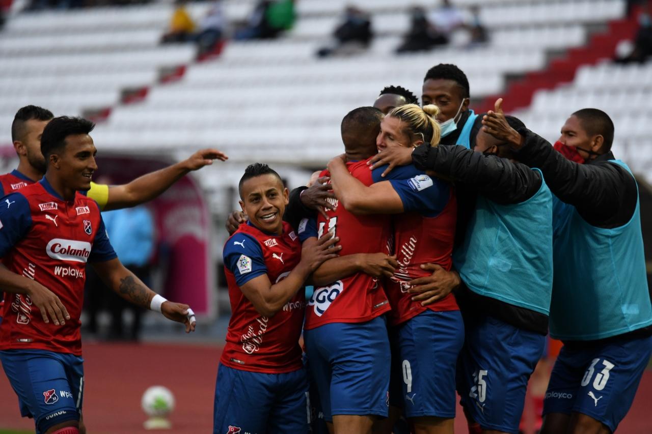 Once Caldas vs Medellin por Copa BetPlay 6
