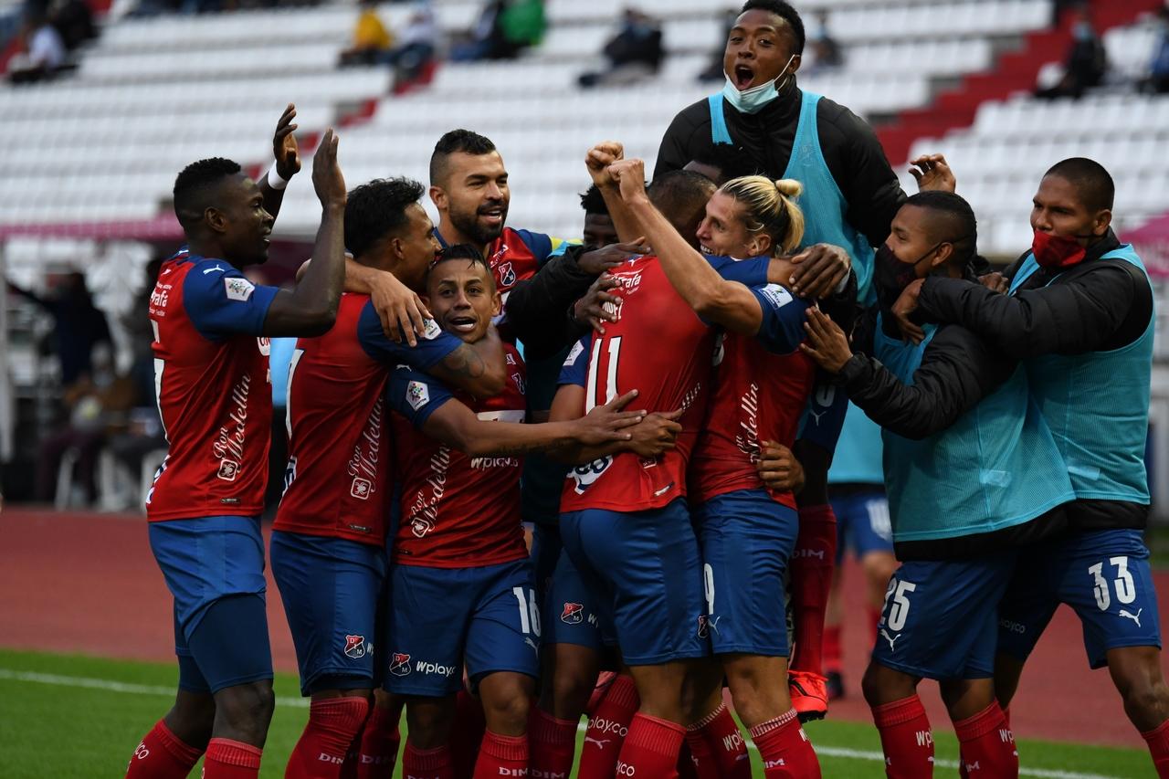 Once Caldas vs Medellin por Copa BetPlay 7