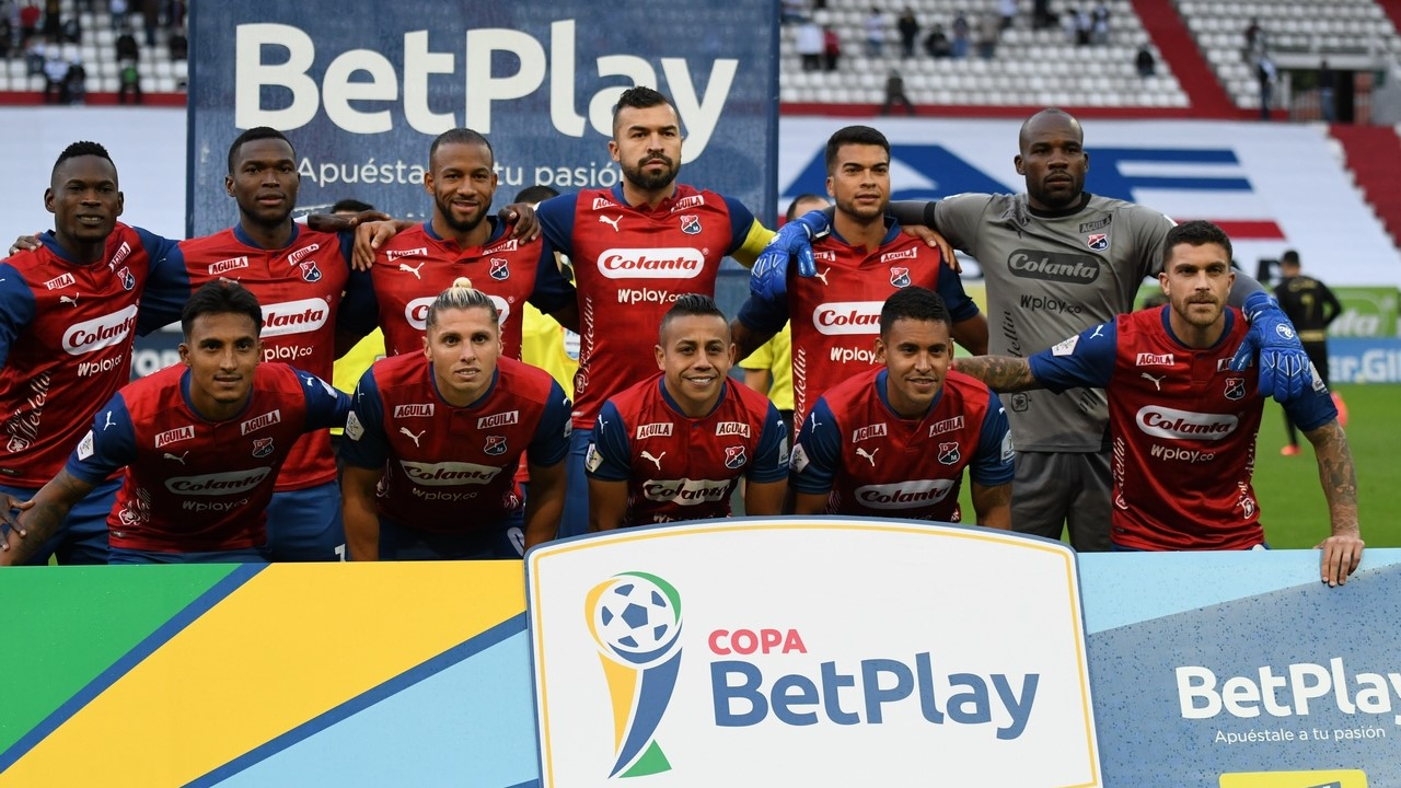 Once Caldas vs Medellin por Copa BetPlay 9 1