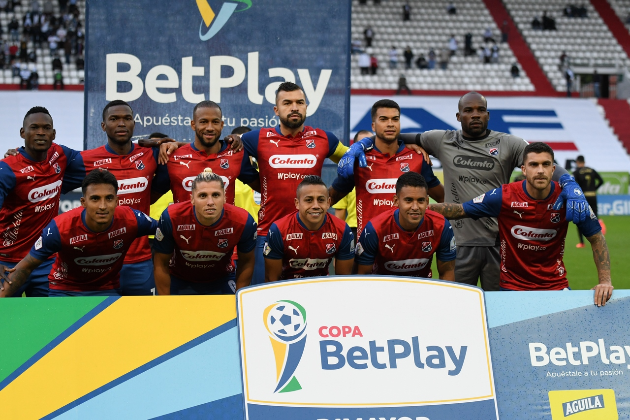 Once Caldas vs Medellin por Copa BetPlay 9