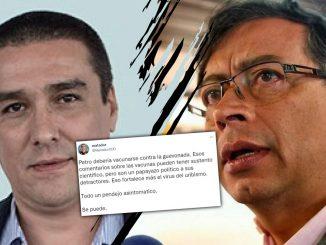 """""""Petro debería vacunarse contra la 'guevonada'"""": trino de Matador"""