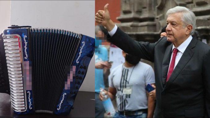 ¡Ay ombe! En plena Alocución el Presidente de México hizo sonar un vallenato