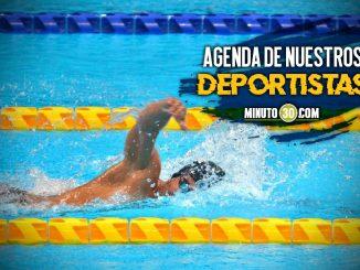 Programacion deportistas colombianos Paralimpicos