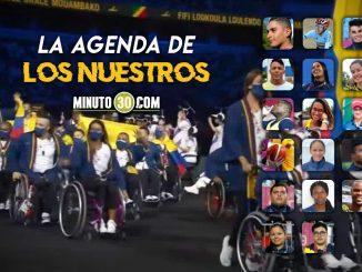 Programacion deportistas colombianos cuarta jornada de Juegos Paralimpicos