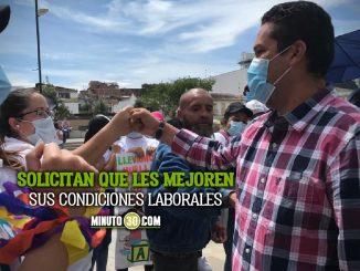 [Video] Protestan en Rionegro las Agentes Educativas de la Primera Infancia