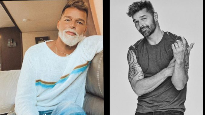¡Sin barba! Ricky Martin estrena nuevo look
