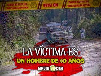 Tirado en una vereda y lleno de heridas de cuchillo encontraron un muerto en Barbosa