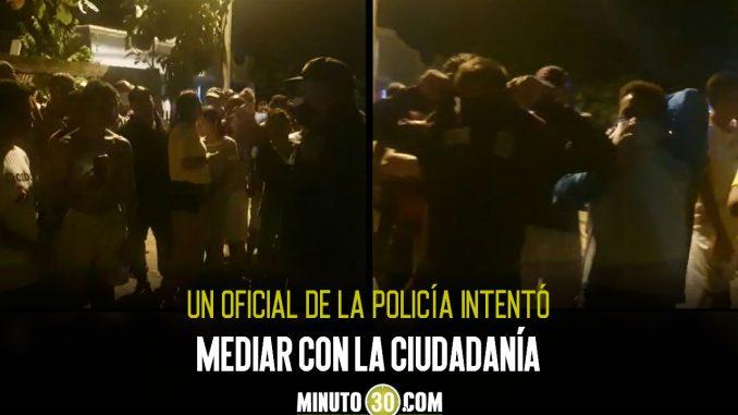 [Video] Una multitud intentó linchar a un presunto ladrón