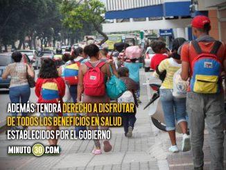 Venezolanos podrán afiliarse a EPS de su elección con el Permiso de Protección Temporal
