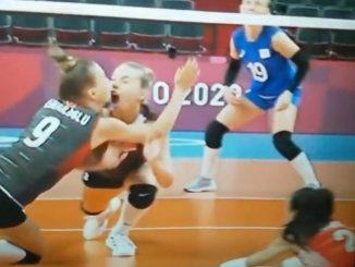 Voleibol jugadora tokio 2021