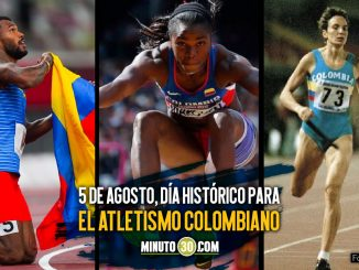Ximena Restrepo Caterine Ibarguen y Anthony Zambrano celebraron un 5 de agosto en Olimpicos