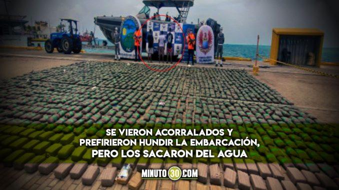 ¡Se les cayó toda la cripy! Pretendían llevar 26 bultos de marihuana a Centroamérica