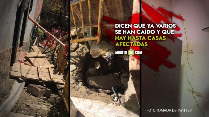 Denuncian mal estado de calles en El Popular 2
