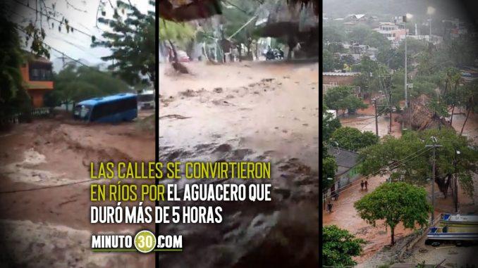 Impactantes FOTOS y VIDEOS de las lluvias en Santa Marta