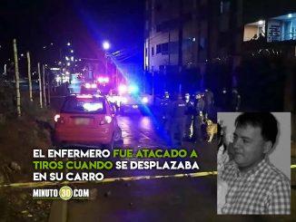 Asesinaron a enfermero en Popayán