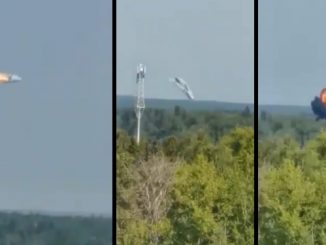 avion ruso estrellado