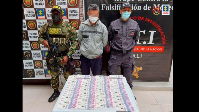 Cogieron a uno de los presuntos mayores traficantes de billetes falsos en el país