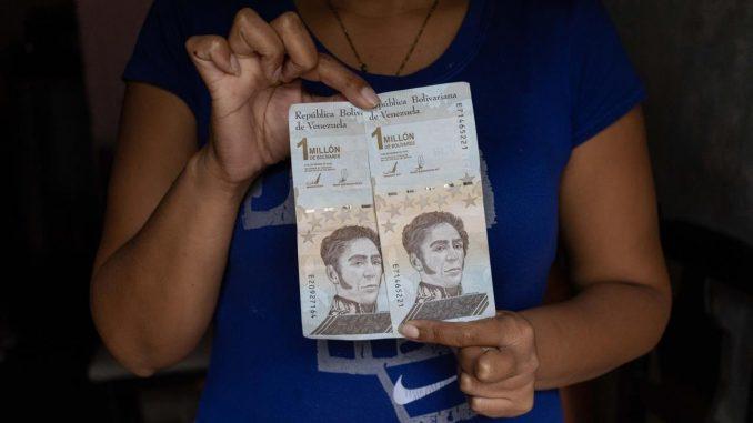 bolivares venezuela ceros