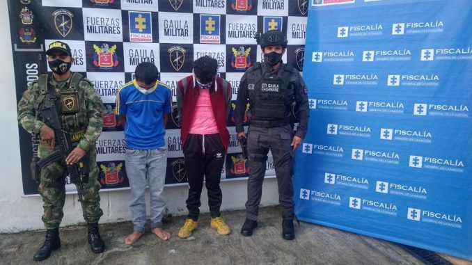 Cayeron dos presuntos integrantes del GAOR 'Subestructura 2