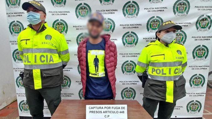 Capturado por fuga de presos en El Carmen de Viboral