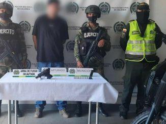 Capturado en Itagüí con una pistola