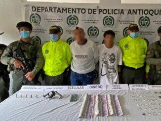 Cogieron en Andes a dos presuntos integrantes de 'Los Guadalupes'