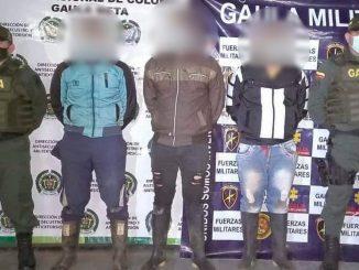 Cogieron a tres presuntos disidentes de las Farc en el Meta