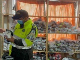 contrabando mercancia bogota operativo