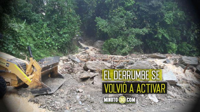 Volvieron a cerrar totalmente la vía en el sector La culebra - Valdivia