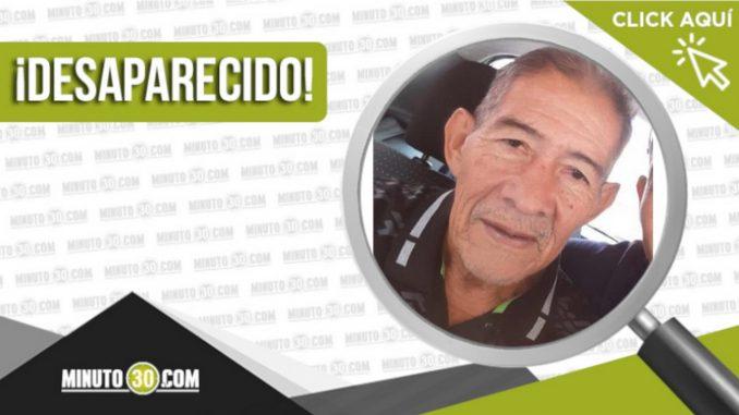 Armando Giraldo está desaparecido, lo vieron por última vez en el Puente de Bulerías