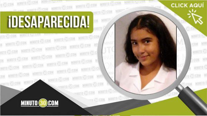 Mailyn Nicol Mendoza Castro desaparecida
