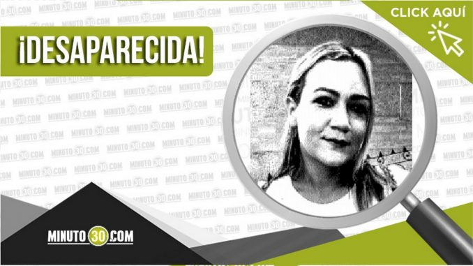 Leidy Carolina Agudelo Reyes desaparecida