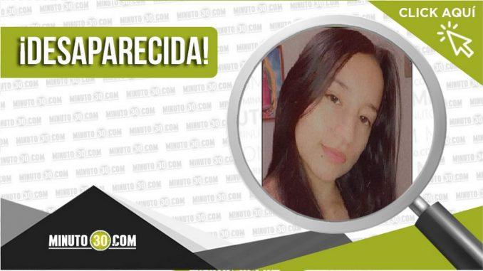Katerine Madrid Zapata desaparecida
