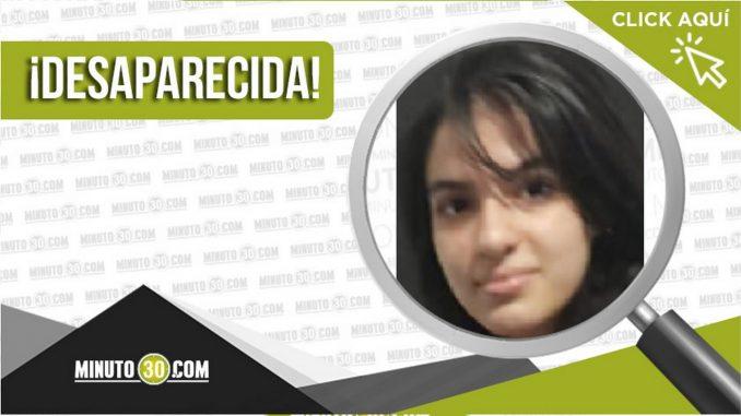 Ana Sofía Osorio Moreno desaparecida