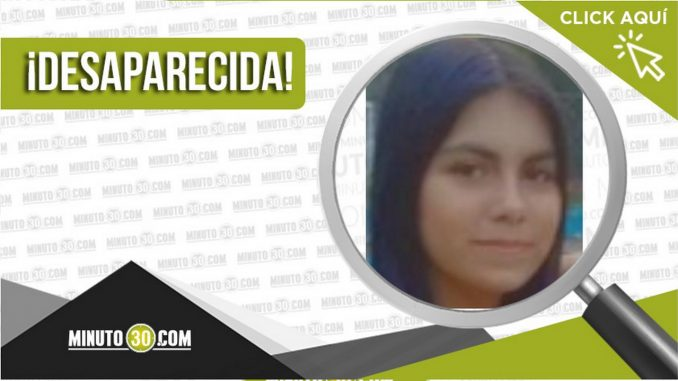 Bay Valery Triana Rincón desaparecida